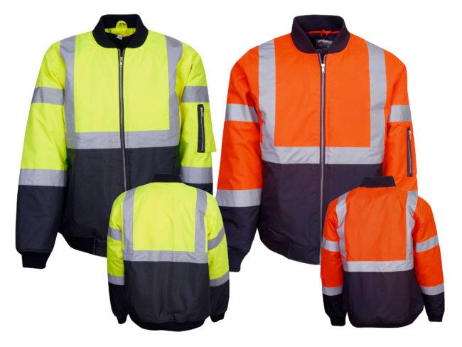 Hi Vis Winter Vests, Jackets & Rainwear