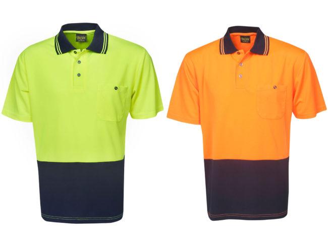 Hi Vis Polo Shirts