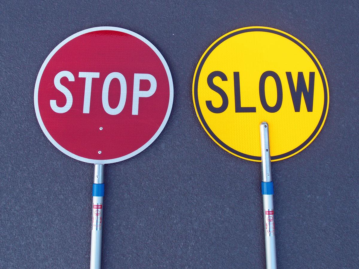 Stop Slow Batons