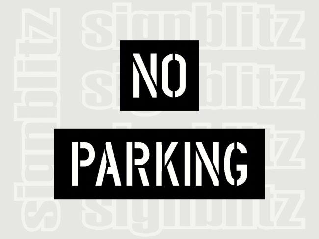 No-Parking-Stencil