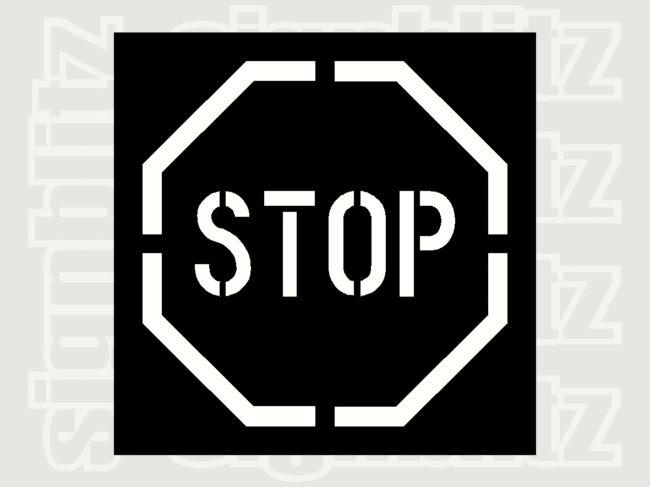 Stop-Stencil