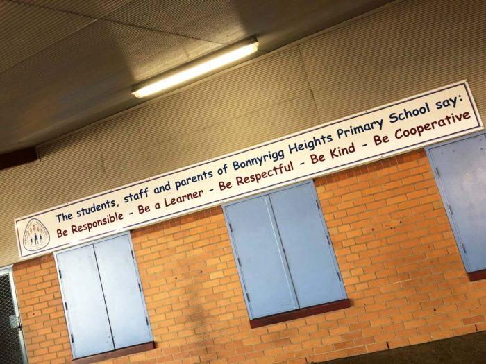 PBL Sign School Canteen Sign BHPS