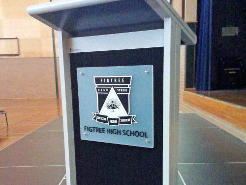 School Lectern Signs