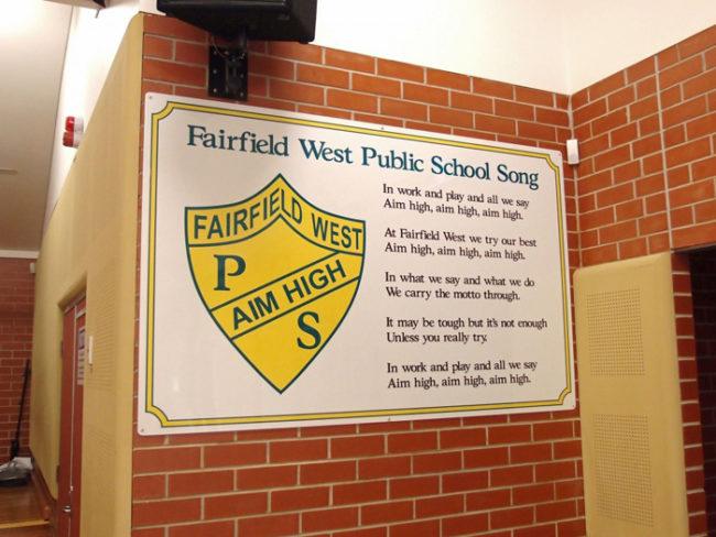 School Song Signs