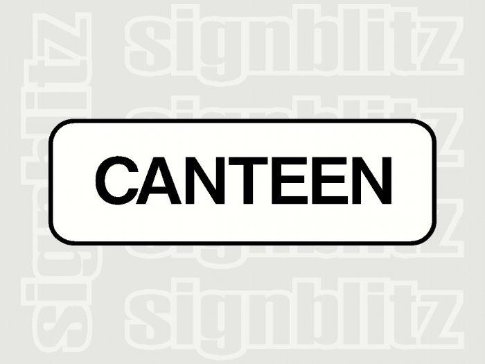 17ED-19 School Canteen Block Sign