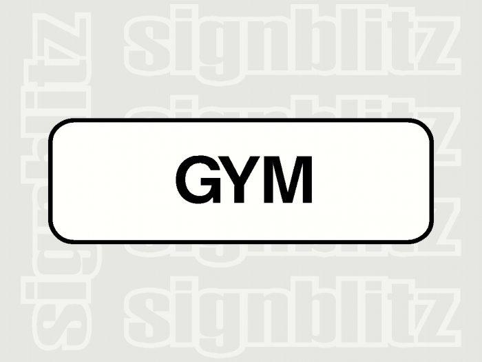 17ED-24 School Gym Block Sign