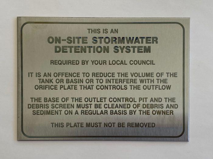 OSD Marker Plate