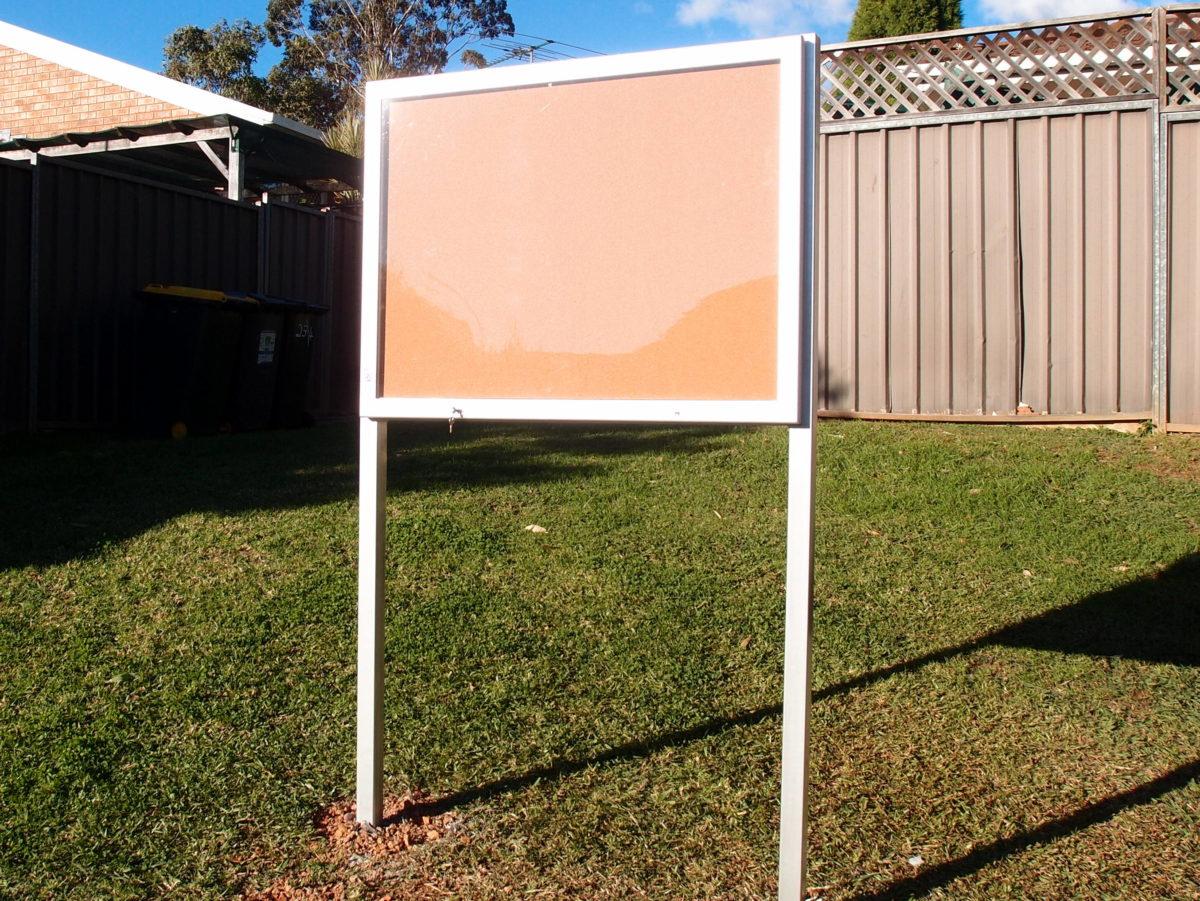 Weatherproof Notice Board Case