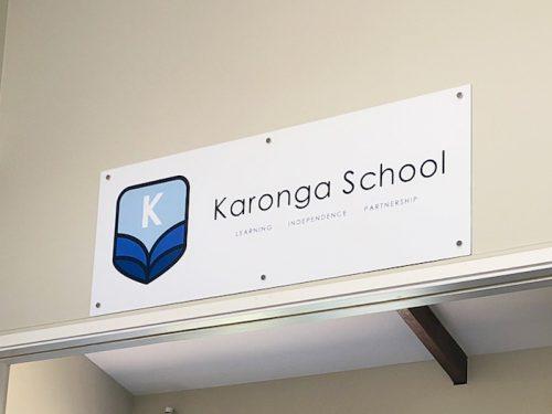 School Sign Welcome KPS
