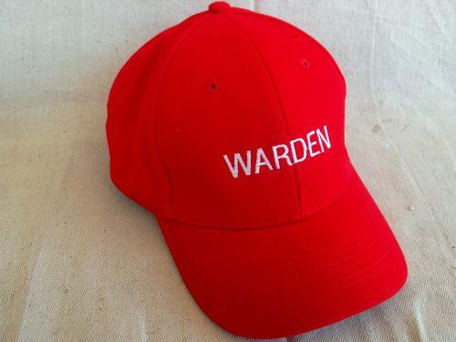 Warden Cap Red Colours