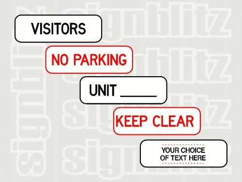 Kerb Parking Signs