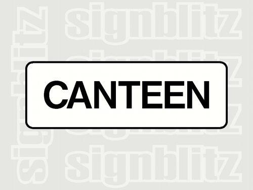 School Canteen Sign